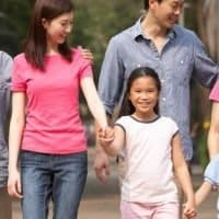 Chinese-Family-In-Park