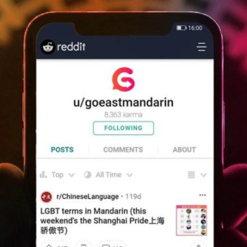 Reddit learning Chinese
