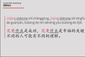 chinese grammar videos